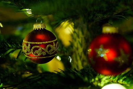 Christmas and Christmas Tree Decoration 写真素材 - 167229239