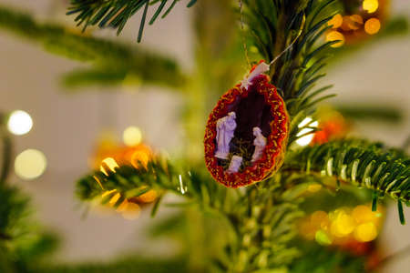 Christmas and Christmas Tree Decoration 写真素材 - 167229244