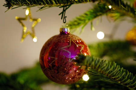 Christmas and Christmas Tree Decoration 写真素材 - 167229262