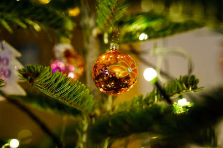 Christmas and Christmas Tree Decoration 写真素材 - 167229263