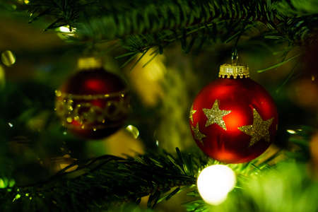 Christmas and Christmas Tree Decoration 写真素材 - 167229265