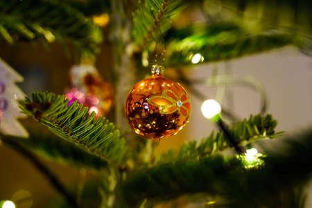 Christmas and Christmas Tree Decoration 写真素材 - 167229266