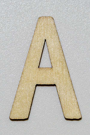 letters with wood grain 写真素材 - 167229270