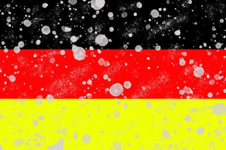 German Flag grafic Backgrounds 写真素材