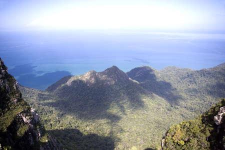 langkawi island: Langkawi Island Mountains and Seas