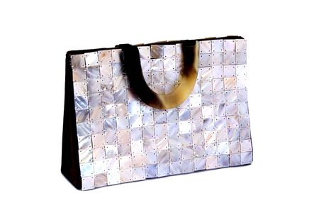 mother of pearl: Madreperla mano Bag