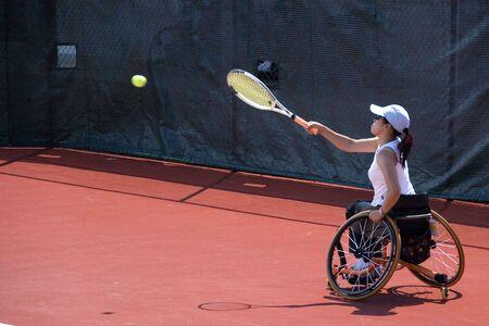 paraplegic: Rolstoel Tennis voor personen met een handicap (Vrouwen)