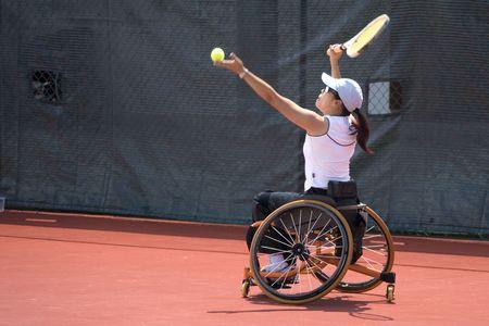 paraplegico: Tenis silla de ruedas para las personas con discapacidad (mujeres)