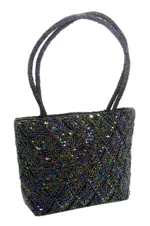 Beaded and Sequined Hand Bag photo