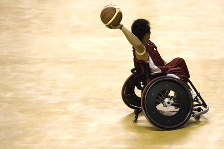 wheel chair: Wheel Chair Basketball for Disabled Persons (Men)