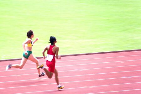 impaired: Womens 100 Meters for Visually Impaired Persons
