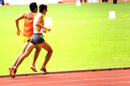 Mens 1500 Meters for Blind Persons