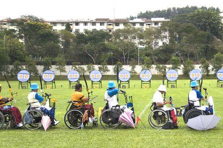 paraplegic: Boogschieten voor personen met een handicap
