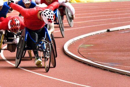 paraplegic: Rolstoel Race