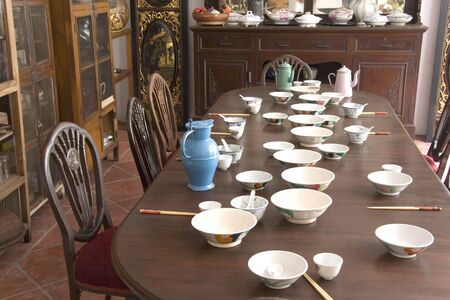 malaya: Vintage Chinese Dining Room