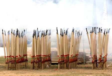 joss: Chinese Hungry Ghost Festival Joss Sticks