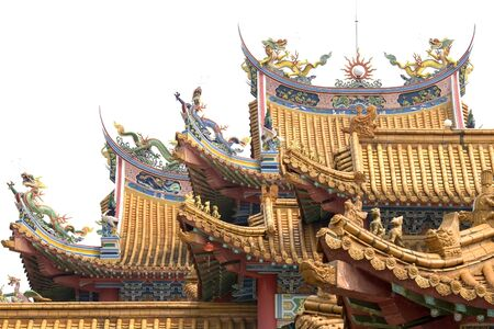 then: Lee Then Hou Chinese Temple Stock Photo