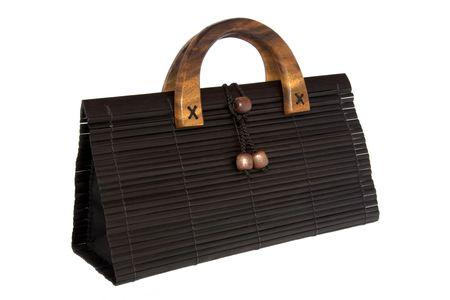 Bamboo Hand Bag Stock Photo - 750234