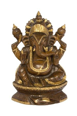 Elephant Headed Hindu Deity Stock Photo - 750191