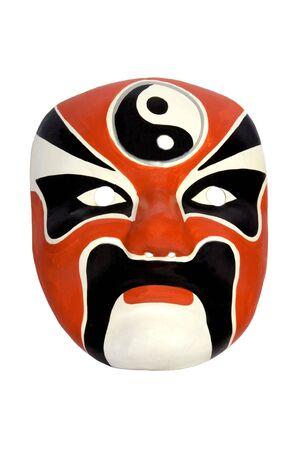 pretend: Chinese Opera Mask Stock Photo