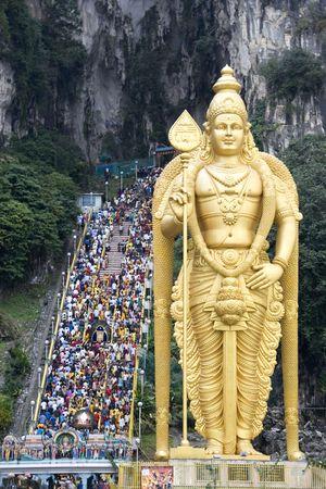 godliness: Thaipuasam Hindu Festival Stock Photo