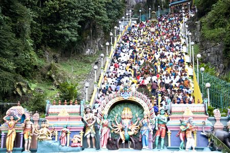 hindues: Thaipuasam festival hind�