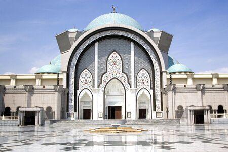 tabernacle: Wilayah Persekutuan Mosque Stock Photo