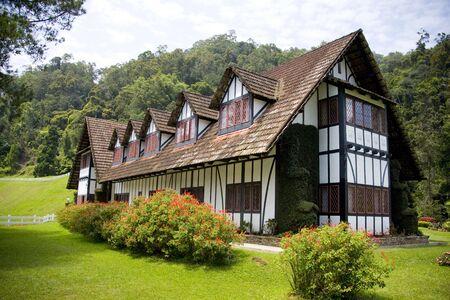 tudor: Colonial Tudor Style Mansion