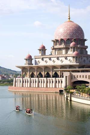 prayer tower: Putrajaya Mosque