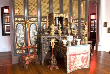 malaya: Vintage Chinese Prayer Altar