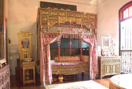 Vintage Peranakan Bedroom