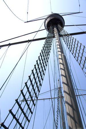 Mast of Portuguese Galleon photo