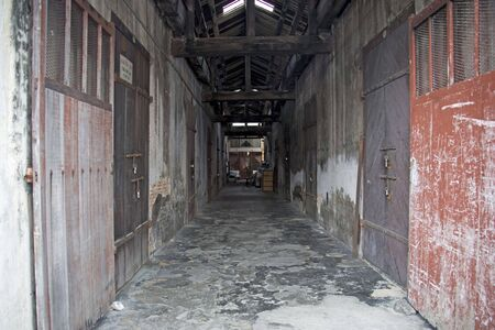 dilapidated: Dilapidated Colonial Warehouse
