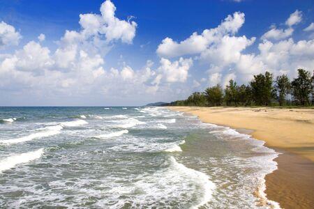 terengganu: Terengganu Coastal Beach Stock Photo