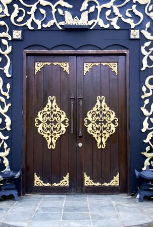 Traditional Malay House Doors