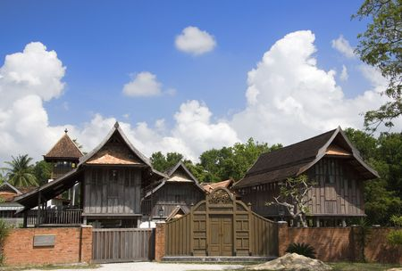 traditional culture: Traditional Malay House Editorial