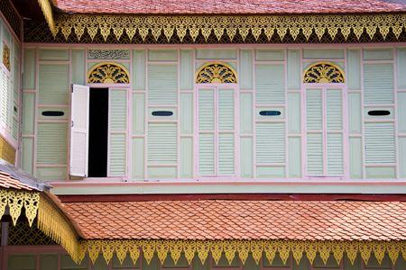 malay village: Casa tradicional malayo Foto de archivo