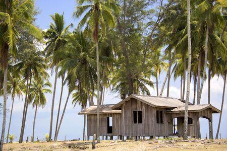 terengganu: Abandoned House at Palm Beach