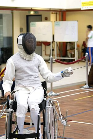 offence: Wheel Chair Fencing