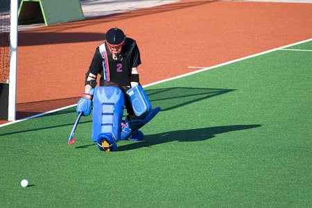 hockey sobre cesped: Hockey sobre C�sped portero