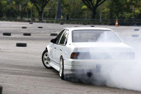 Drift Racing Stock Photo