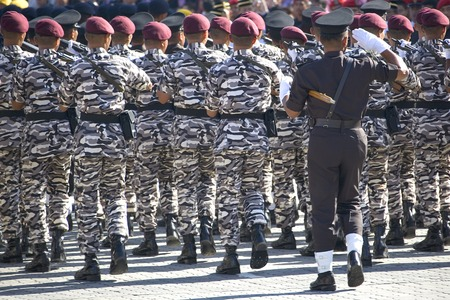 Marching Soldiers Stock Photo - 1657576