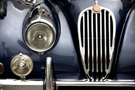 car show: Vintage Motorcar. Editorial
