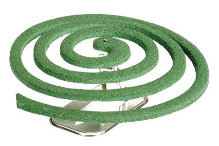 Image of a mosquito coil. Stock Photo - 2823518