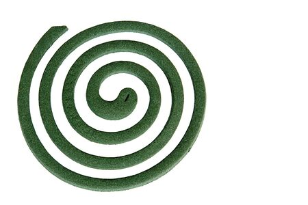 Image of a mosquito coil. photo