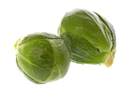 brussel: Isolated macro image of Brussel Sprouts.