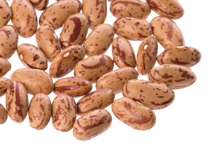 Isolated image of pinto beans. photo