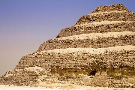 djoser: Image of the Step Pyramid of Djoser, Saqqara, Egypt.