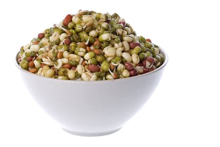 Isolated image of Bean Salad in a bowl. Stock Photo - 4105231