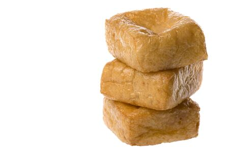 known: Isolated image of beancurd or commonly known as tofu.